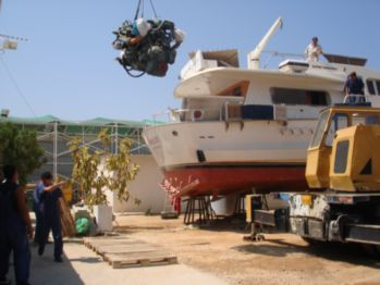Partheni Boatyard - Mechanics